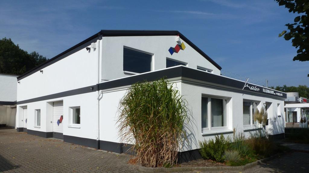 Maler Gehm Wedel Hamburg Außenarbeiten Firmengebäude Gehm