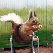 Maler-in-Wedel-und-Hamburg-Aussenarbeiten-Graffiti-Eichhörnchen