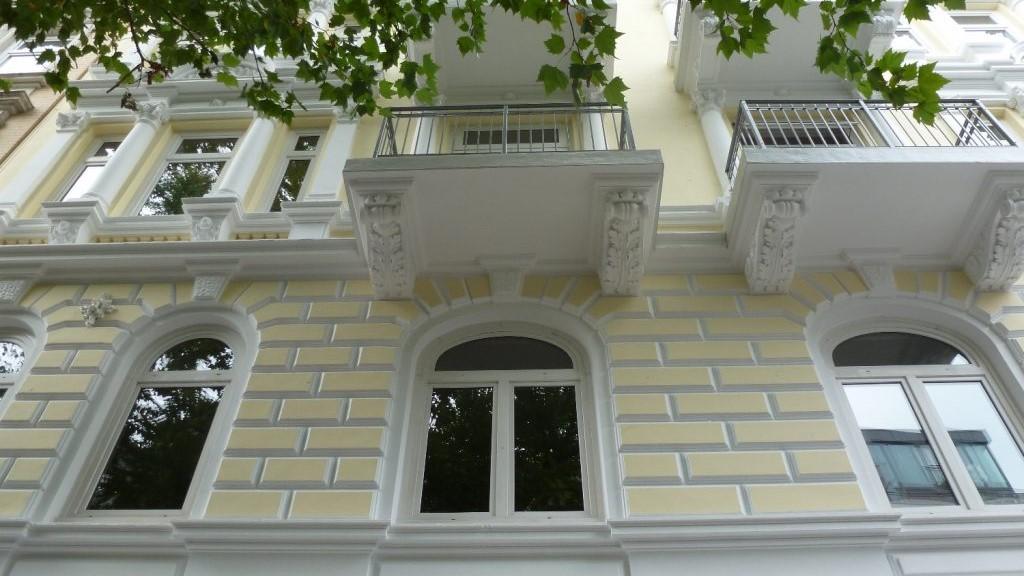 Maler Wedel Hamburg Aussenarbeiten Fassade Balkone