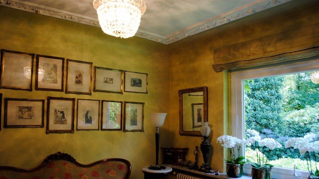 Maler Wedel Hamburg Innenarbeiten Wohnzimmer Bilder