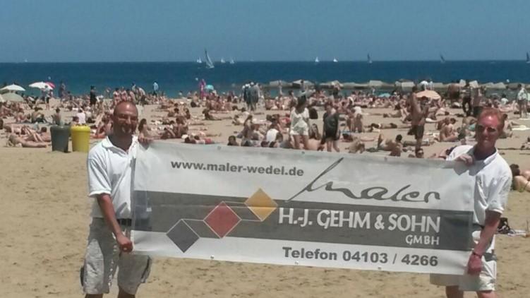 Maler Wedel Hamburg Innenarbeiten Motoryacht Polarstar Banner Gehm Strand