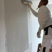 Maler Wedel Hamburg Wir bei der Arbeit Tapezierarbeiten